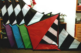 A batch of special order kites
